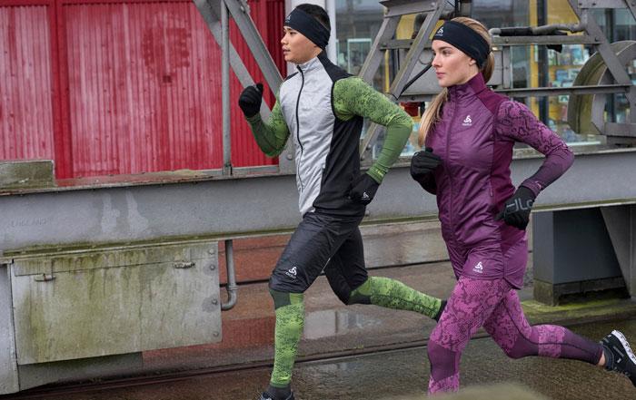 joggen im winter mit odlo-bekleidung