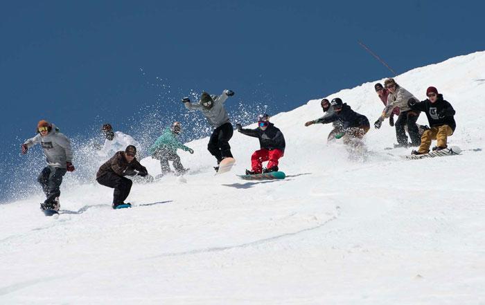 Snowboard richtige Länge