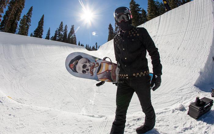Snowboard die richtige länge
