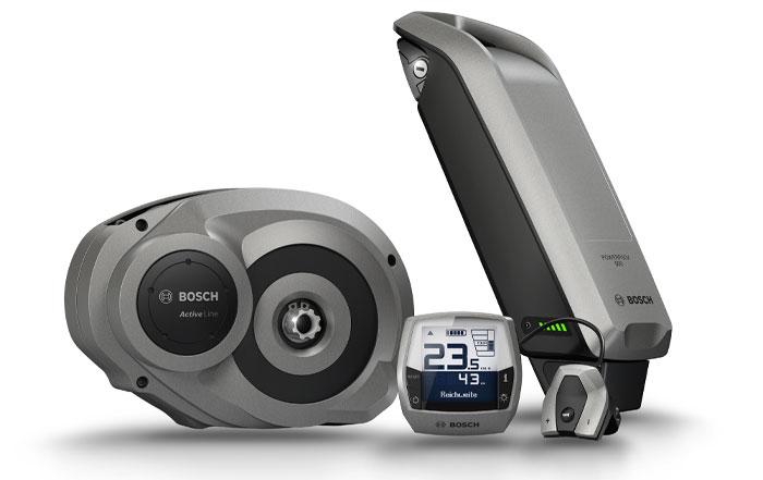 Reichweite Bosch eBikes
