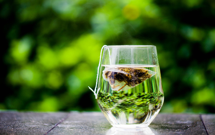 grüner Tee Sport