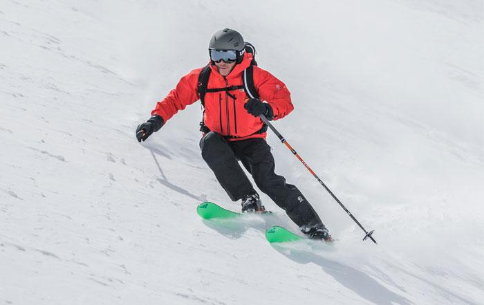 Skitourenbekleidng