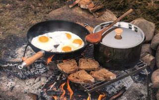 come cucinare in campeggio