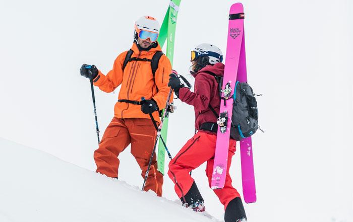 Skitourenhelme doppelte Zertifizierung