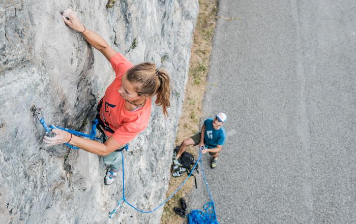 arrampicata-sicura-punti d'aggancio intermedi