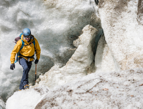 Come affrontare una progressione sul ghiacciaio