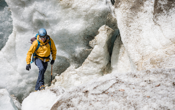 Gletscherüberquerung