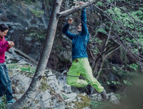 Vorbereitung für Kletterer