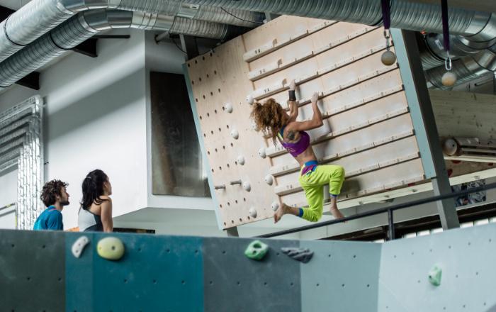 prepara un climber