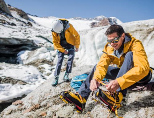 Steigeisen, die zackigen Bergbegleiter